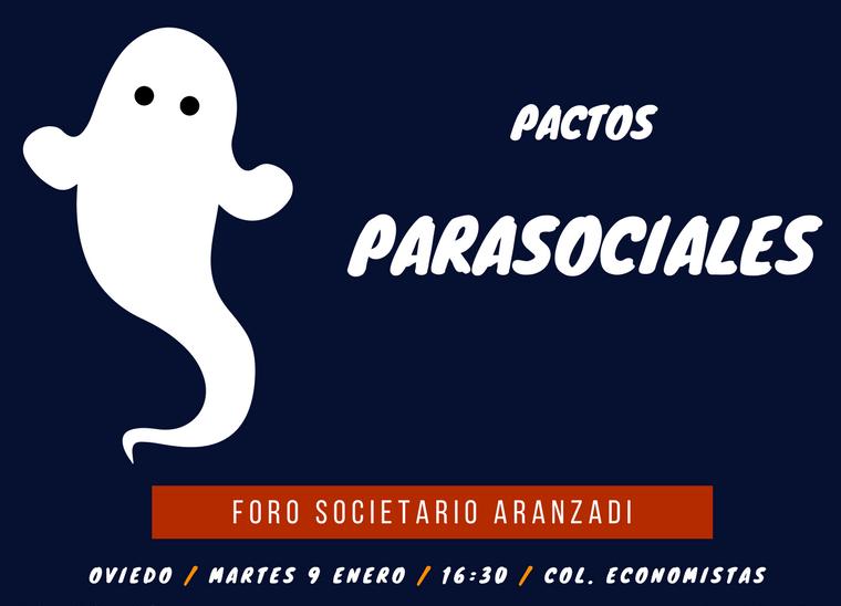 Pactos parasociales – VI Foro Aranzadi Derecho societario y concursal