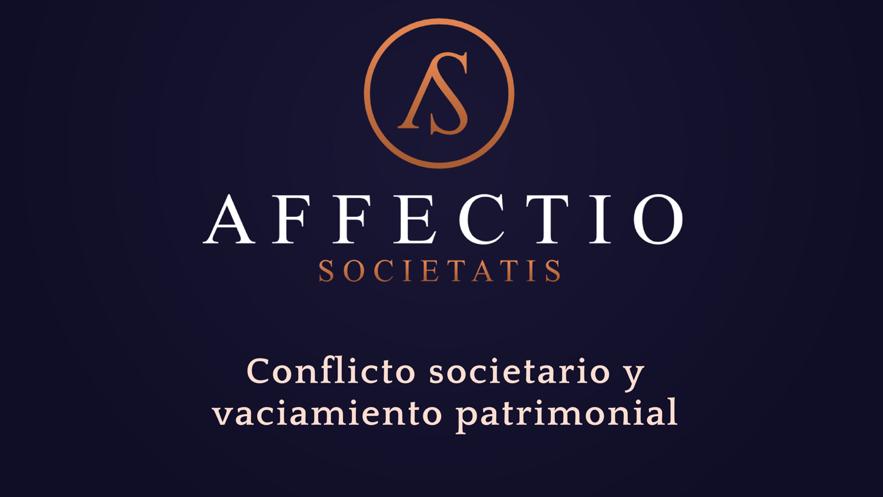 Conflicto societario y vaciamiento patrimonial